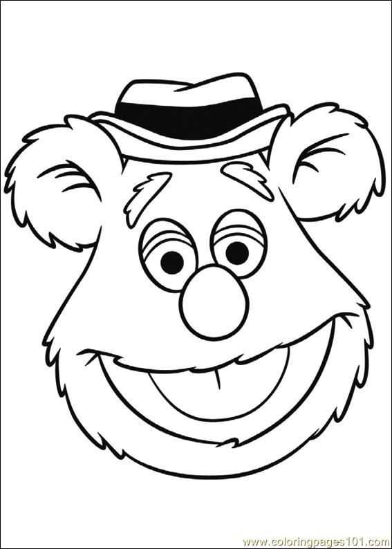 Coloring Pages Muppets 04 Muppet Babies Free Printable | Abstract ...