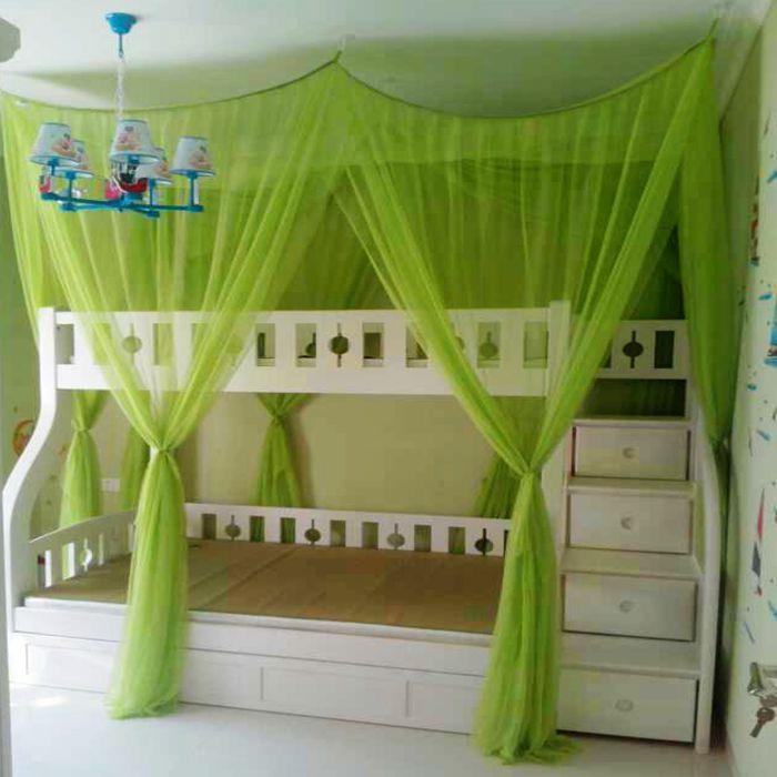 Taobao Agent Baroque Princess Bunk Bed Nets Wardrobe Bunk Bed