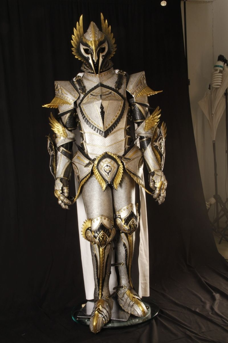 White knight armor