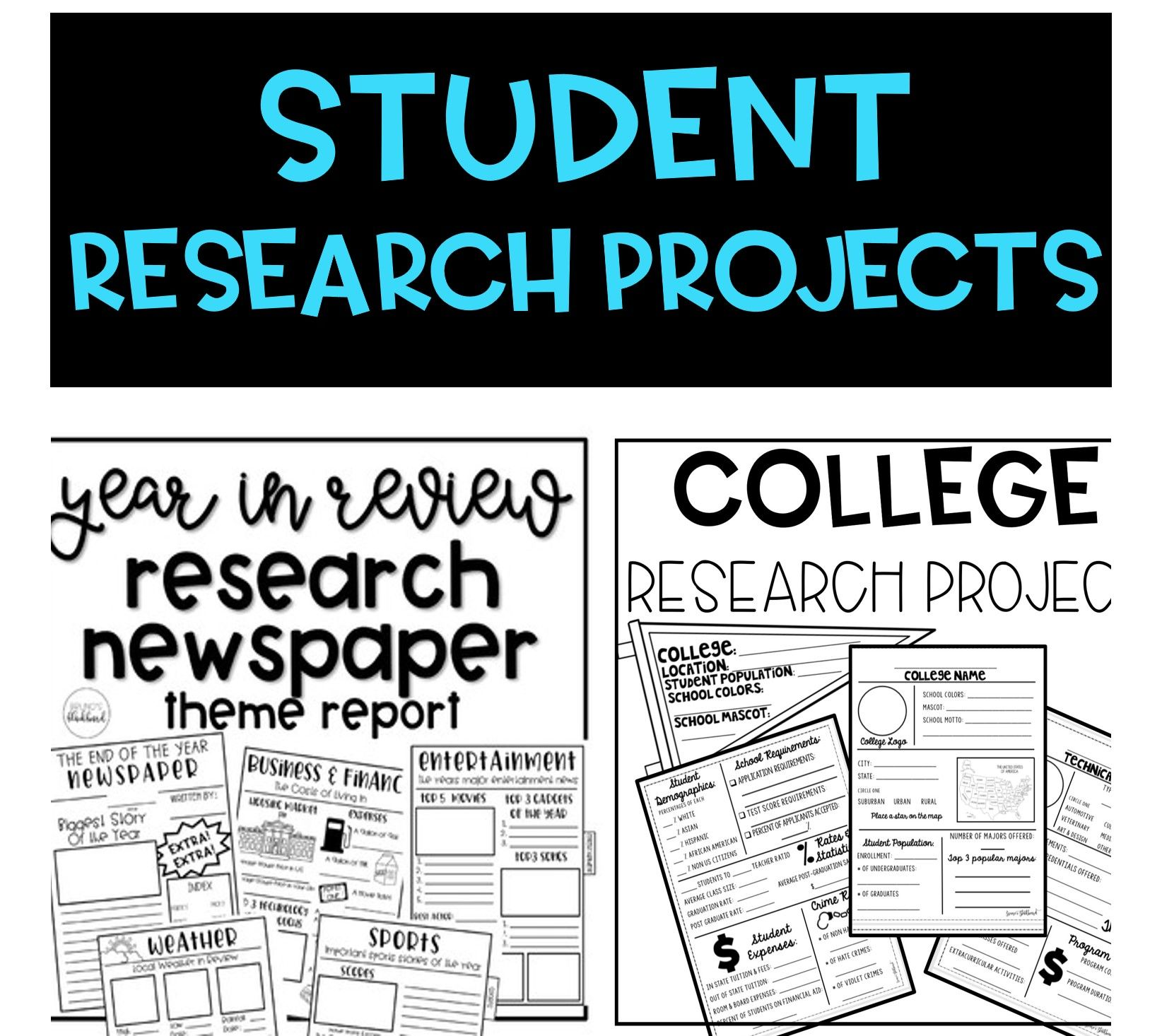 Student Research Projects
