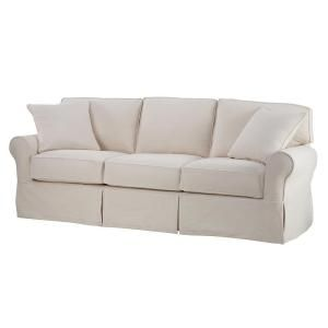 Home Decorators Collection Mayfair 95 in. Classic Natural ...