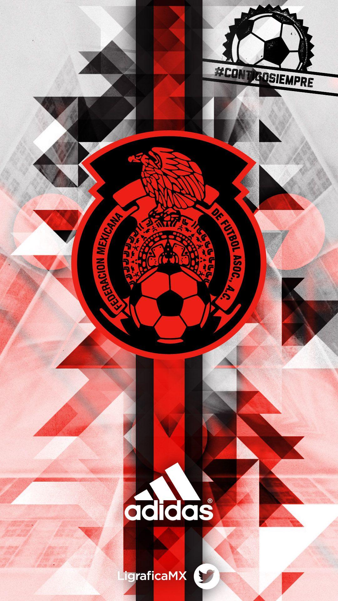Selección Mexicana contigosiempre • LigraficaMX