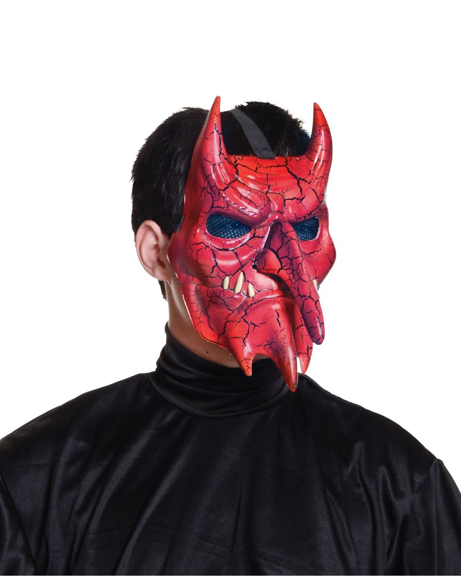 Crackle Devil Mask | Halloween Costumes/Accessories | Pinterest ...