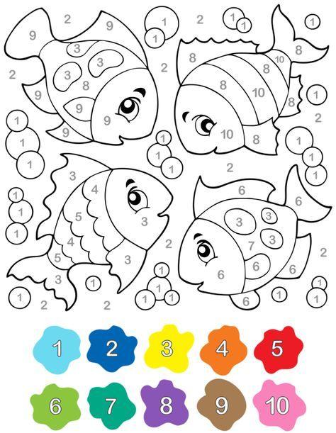 Arbeitsblätter Numbers Colours : Pin von corina auf mate cifre pinterest vorschule