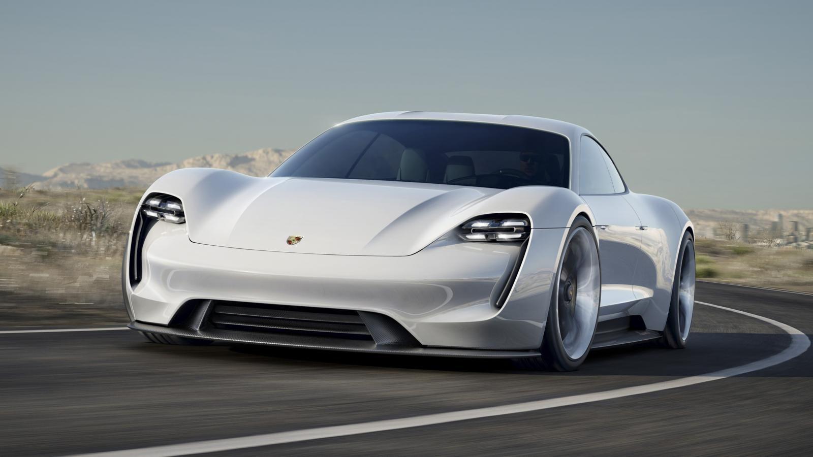 This is Porsche\u0027s four,door electric future