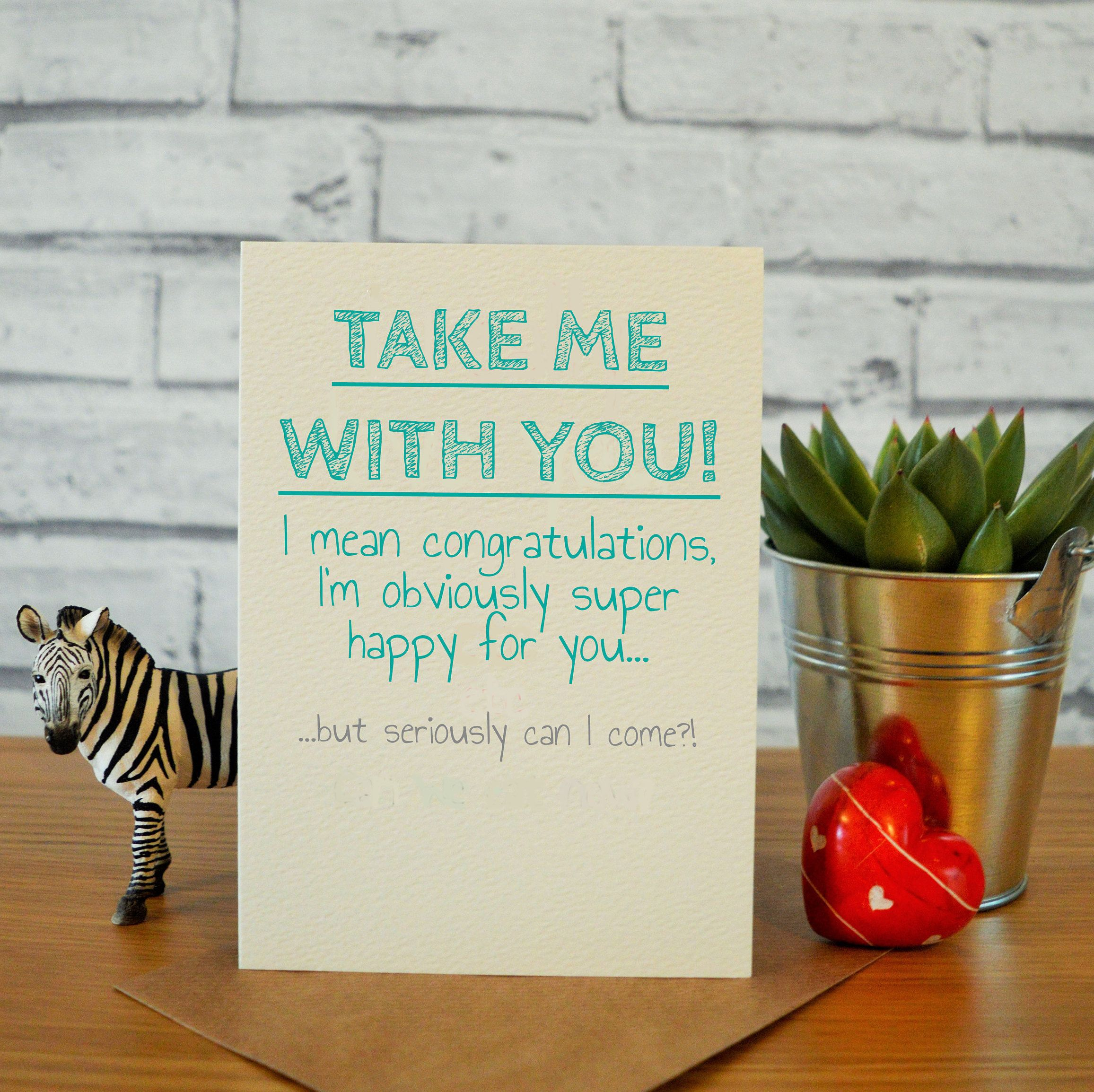 Funny Leaving Card Funny New Job Card Sorry You Re Etsy New Job Card Funny Leaving Cards Leaving Cards