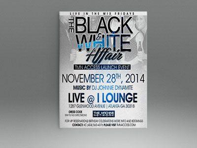 iLounge Black & White Affair