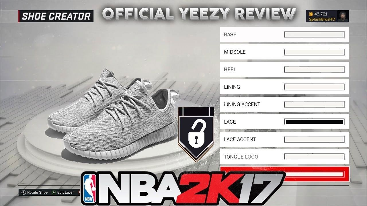 awesome NBA 2K17 YEEZY 's Formal IN