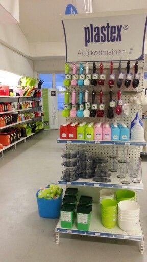 Plastex ja kaupan käyttöliittymä