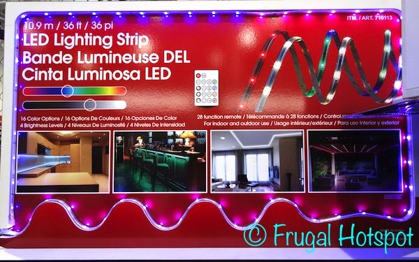 Costco Led Light Strip Pleasing Led Lighting Strip 36 Ft#costco #frugalhotspot  Miscellaneous Design Decoration