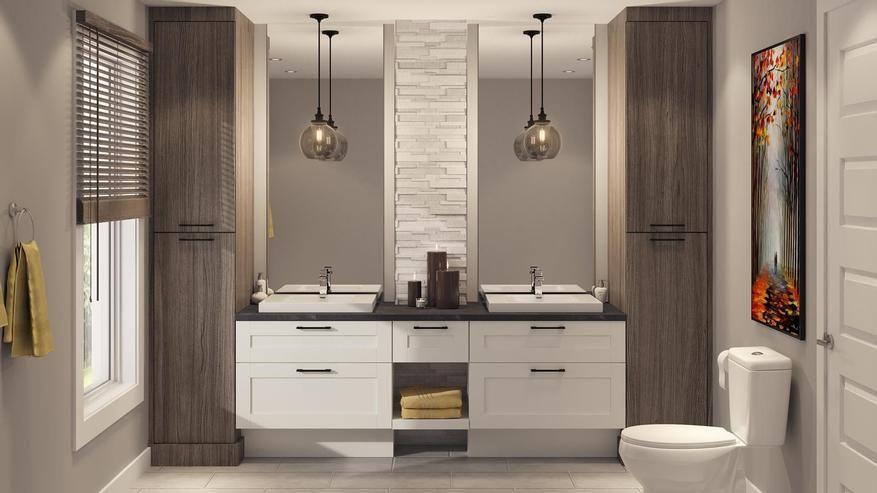 Salles de bain sur mesure 44 Tendances Concept Salle de bain - prise de courant dans salle de bain