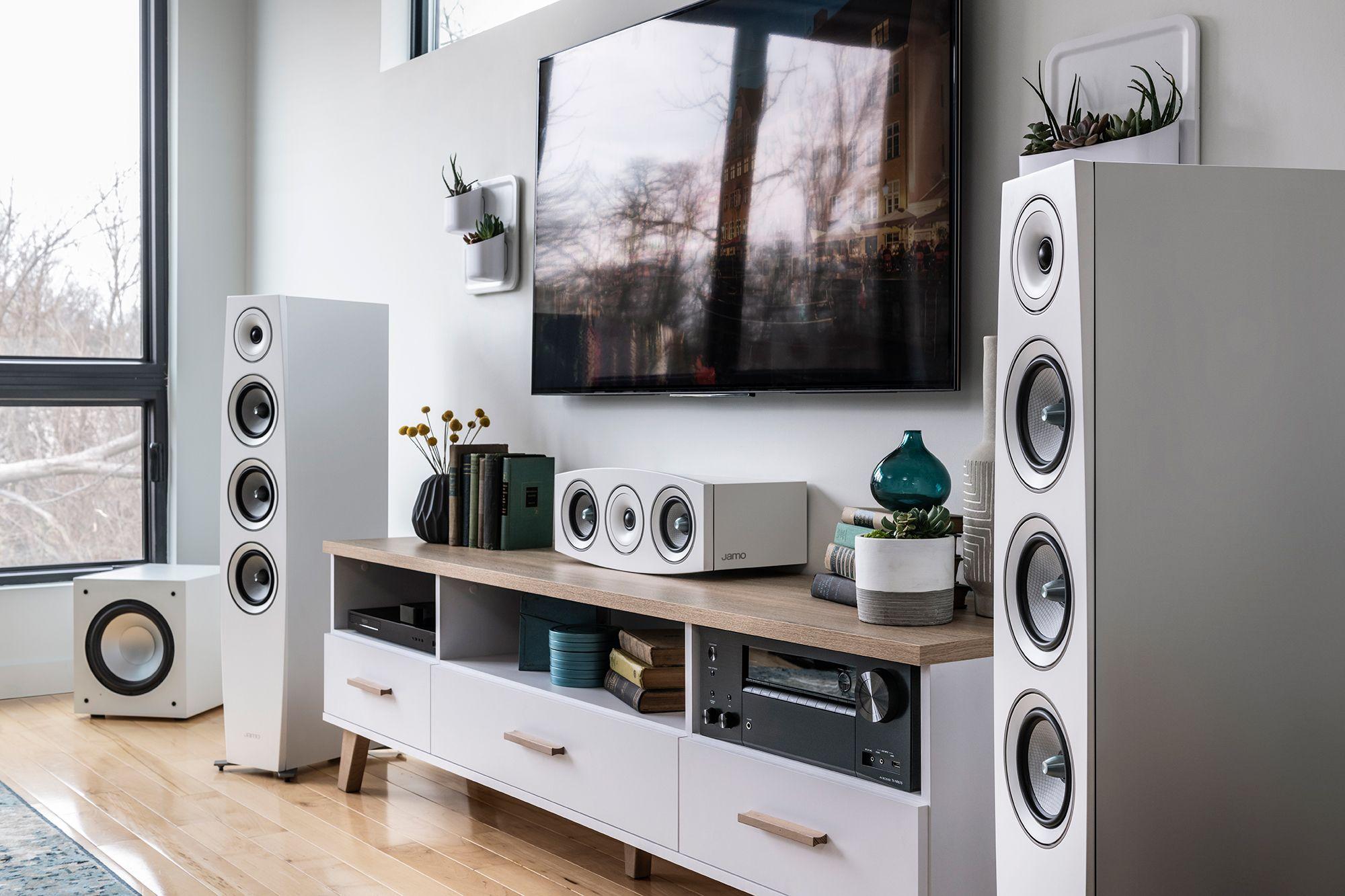 Jamo Com Jamo Speakers Living Room Home Theater Living Room Setup Living Room Speakers Living room speaker placement