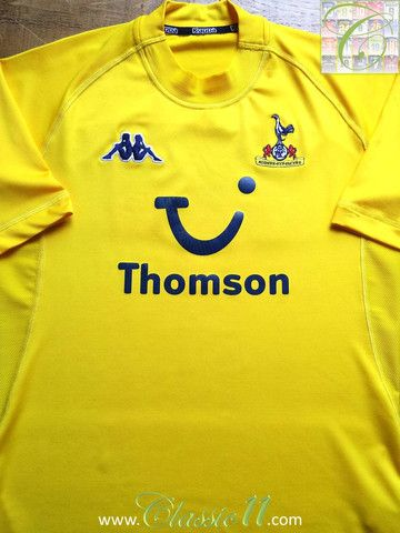 Relive Tottenham Hotspur s 2004 2005 season with this vintage Kappa 3rd kit  football shirt. 49d7bc960