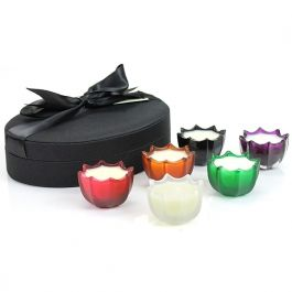 D.L. & Co. Miniature Scallop Candle Gift Set #1