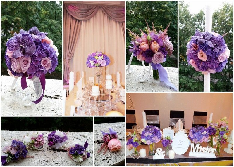 All purple themed wedding  www.belovedevents.ro https://www.facebook.com/BeLovedEventsRO/