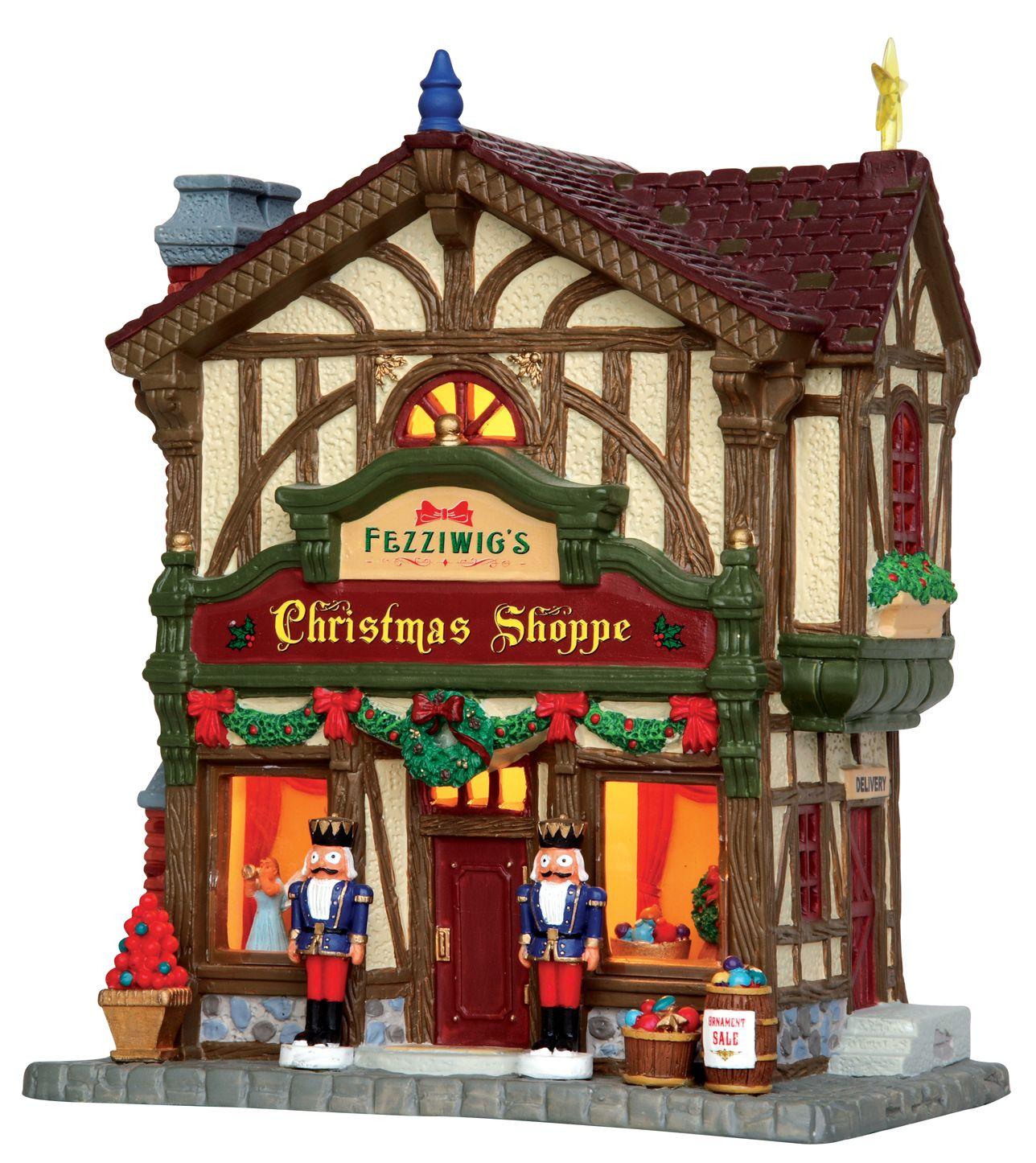 Lemax Fezziwig's Christmas Shoppe. SKU 45742 Released