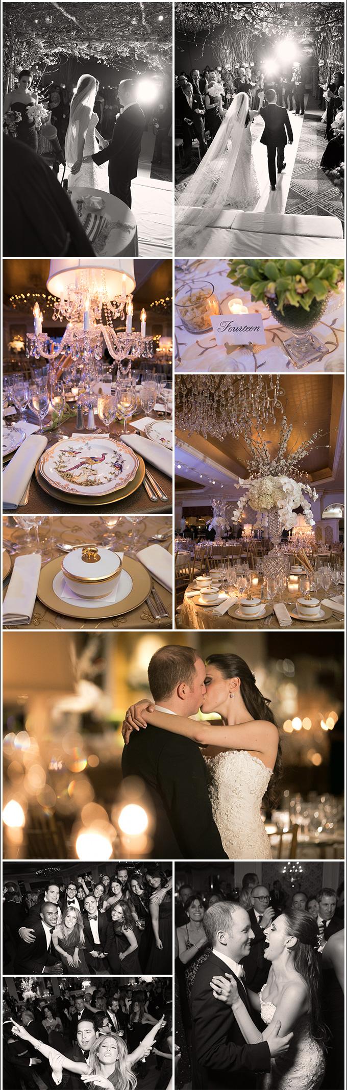 A Garden City Hotel Wedding Erin Brad The Reception In The