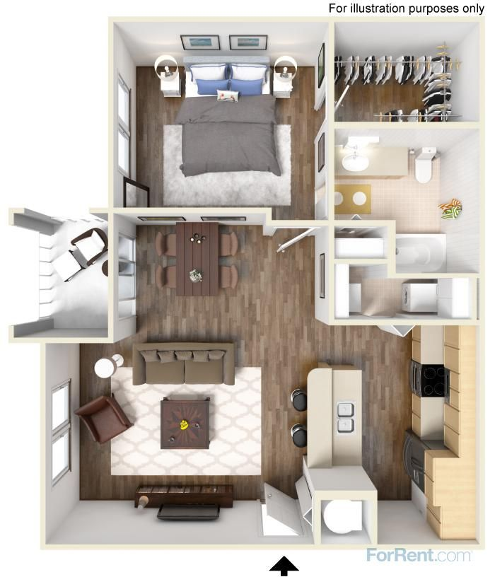 The Cypress Floorplan