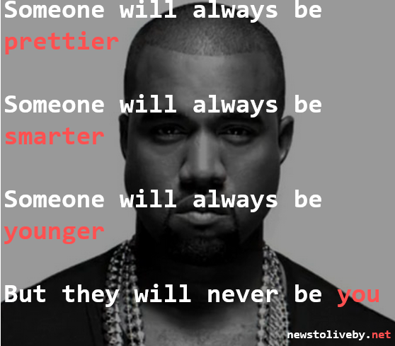 What do you think is the message of the song 'Good Morning by Kanye West'?