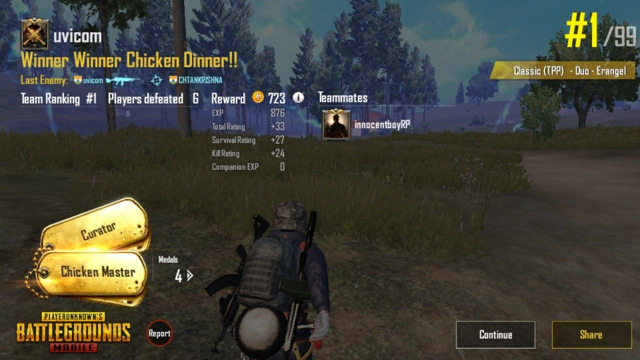 Pin by Shubham on PubG Mobile Stat Easy chicken