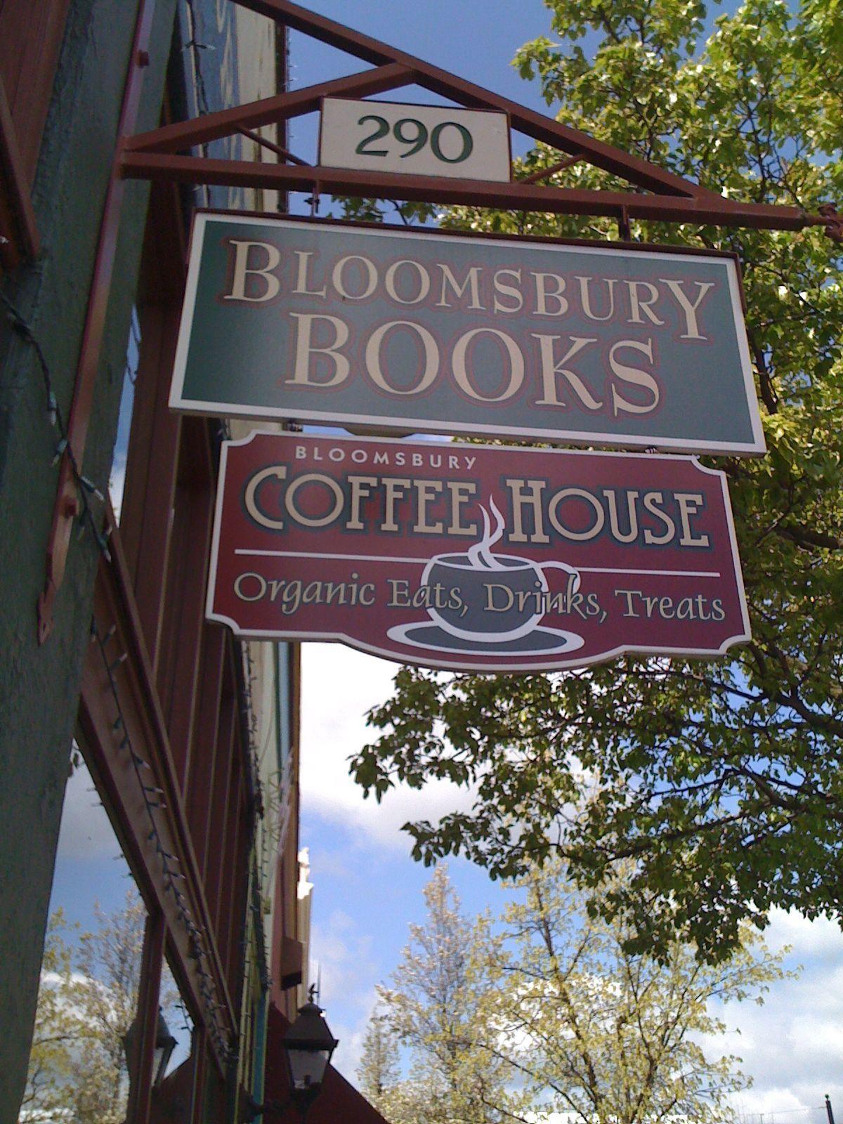 Boomsbury Books Coffee House Ashland Oregon