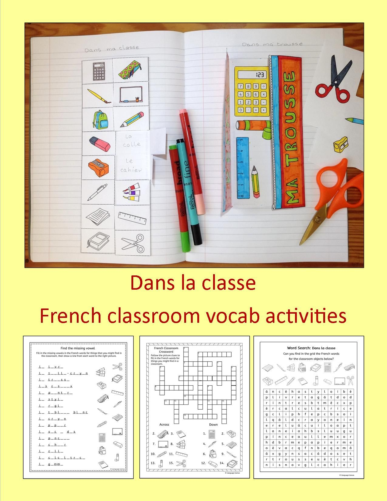 48 Pages Of Fun French Resources To Teach Classroom