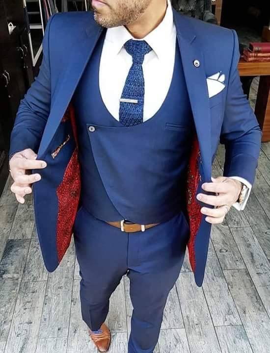 2017 New Classic Style Tuxedos For Men Groomsmen Men\'s Suit Black ...