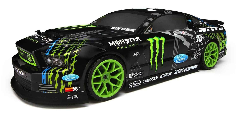 111664 Hpi E10 2013 Mustang Drift Monster Energy Rtr Ets Hobby Shop Rc Cars Monster Energy Rc Cars For Sale [ 744 x 1500 Pixel ]