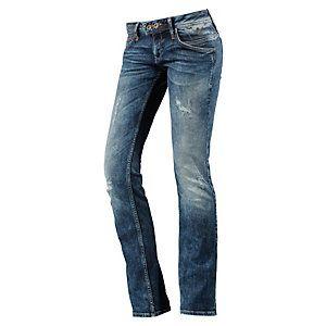 4ee735abc0 <title>Tommy Hilfiger Vicky Bootcut Jeans Damen dark denim im Online Shop  von SportScheck