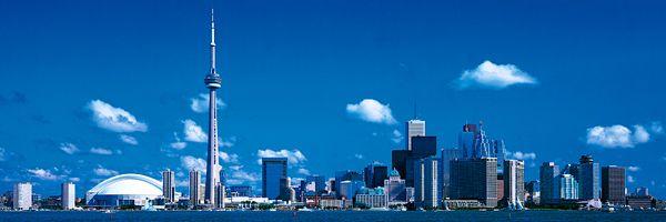 Toronto Toronto Skyline Skyline Toronto Ontario Canada