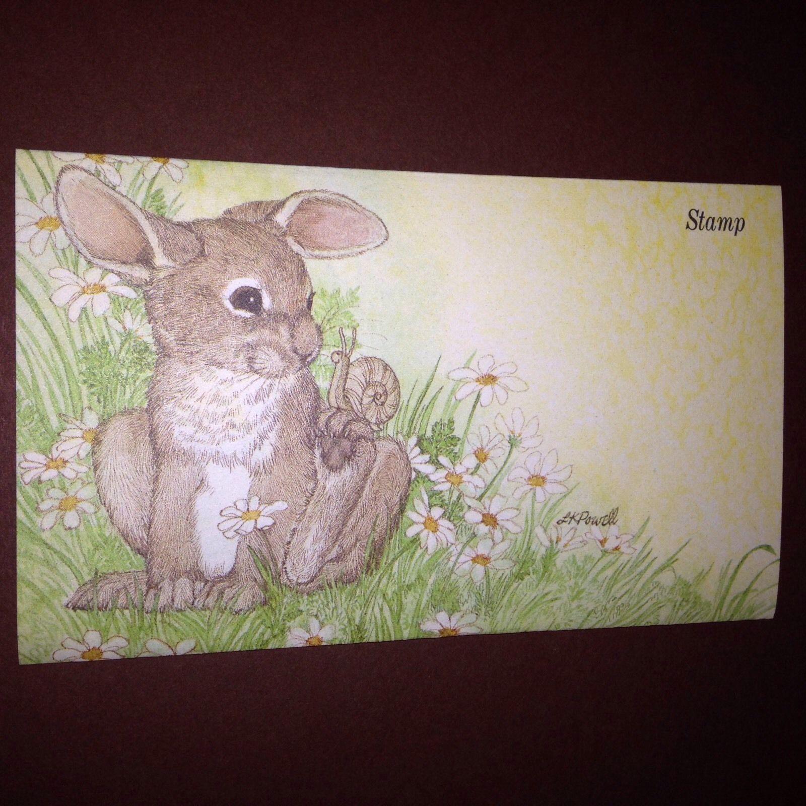 Primitive Easter Sign Peter Cottontail Rabbit Postcard Image Sign Bunny Hop