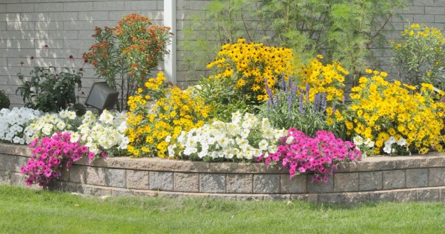 27 Backyard Retaining Wall Ideas and Terraced Gardens | Retaining ...