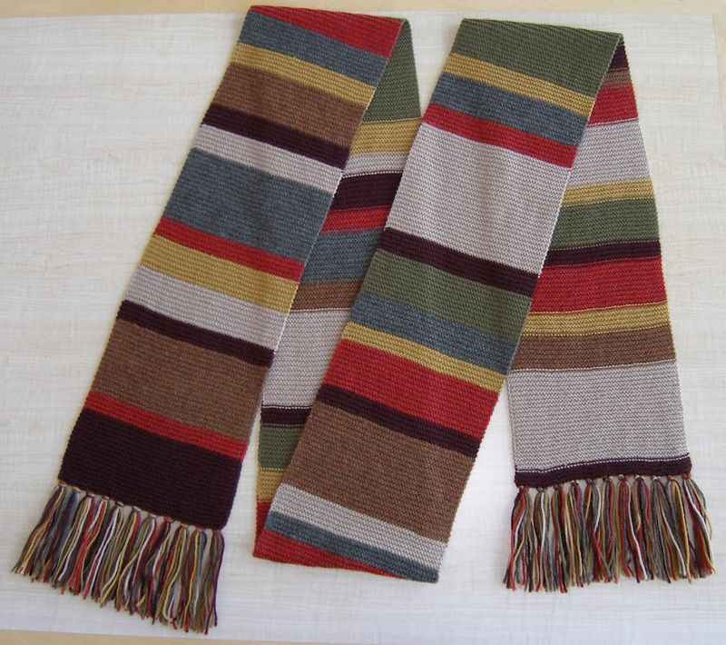 Doctor Who Scarf Patterngallery Website Has Patterns For Multiple