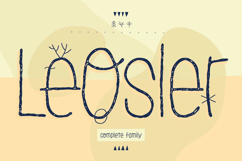 LeOsler (Font) by antipixel