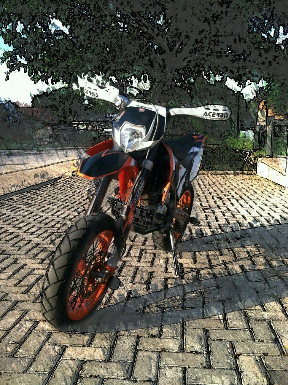 Supermoto ktm 690 stunt concept bikemotorcycletuned car tuning car - Ktm 690