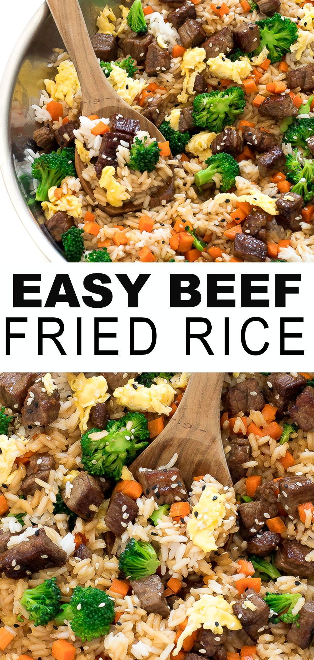 Easy Beef Fried Rice - Chef Savvy