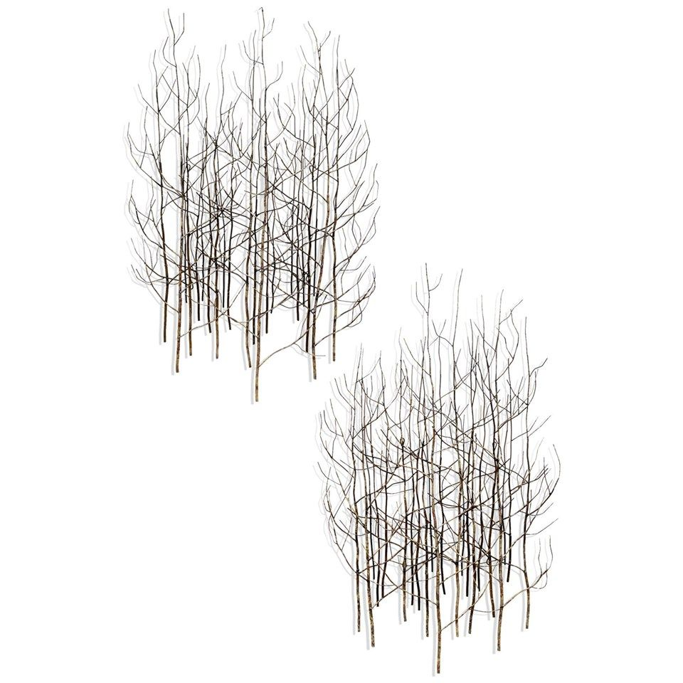 Dandelion Bouf Metal Trees Wall Art Design Led Living Our