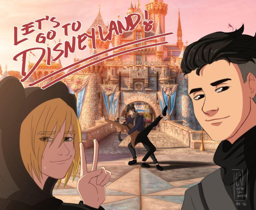 Let's go to Disneyland! by URESHI-SAN on DeviantArt