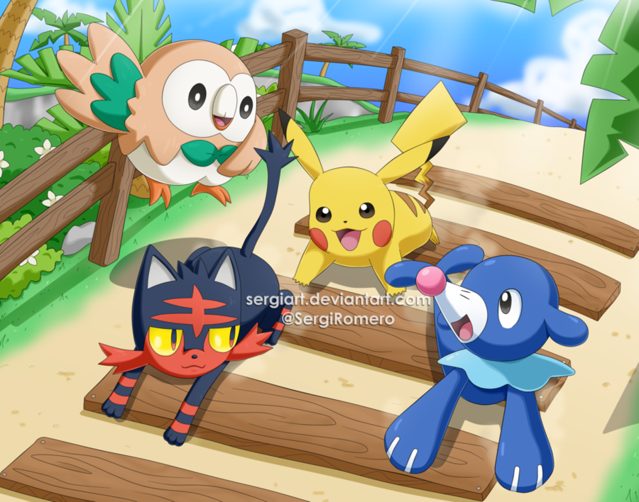 Welcome to Alola | Pokémon Sun and Moon | Know Your Meme