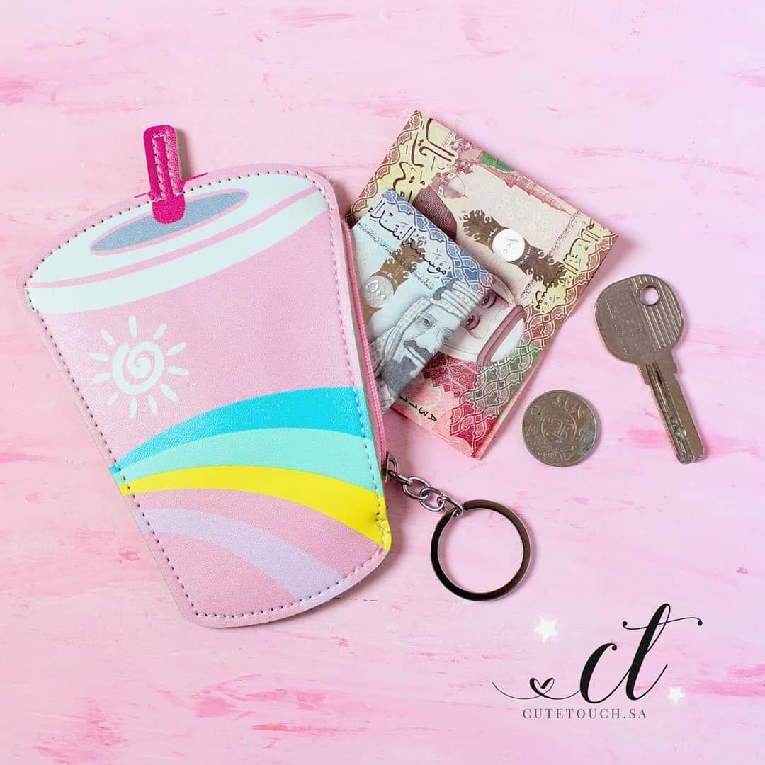 Cute Wallet محفظة نقود Coin Purse Cute Pink Purses