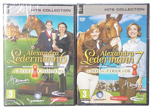 Pack 2 jeux Alexandra Ledermann 6 et 7 - Jeux PC: Amazon.fr: Jeux vidéo