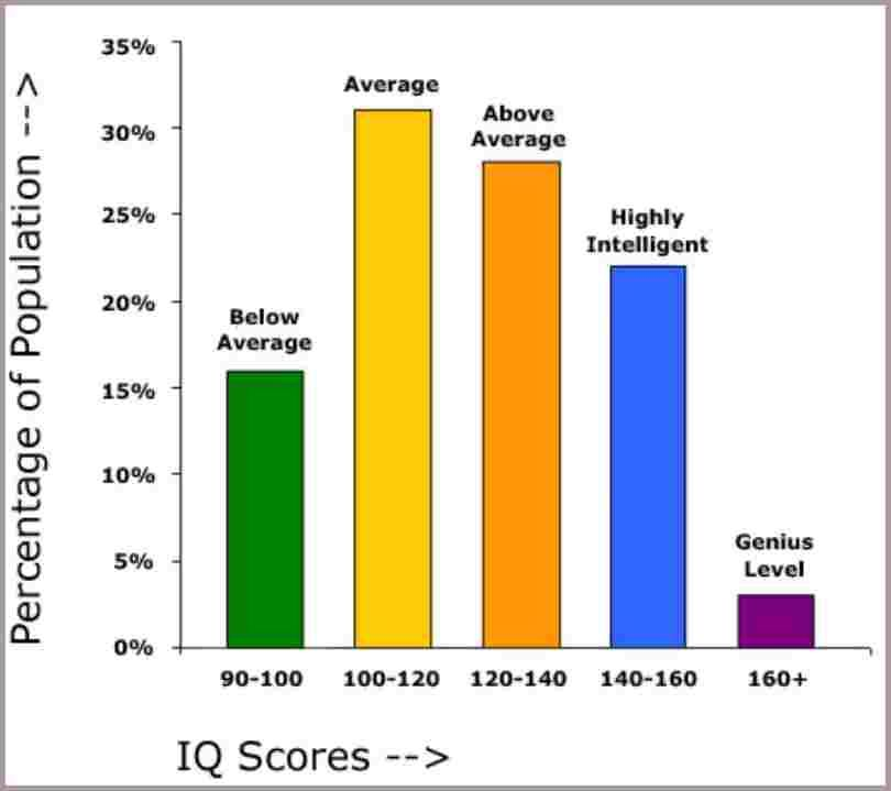 Iq Chart - IQ chart By  wwwiqtestforfreenet Career astrology is