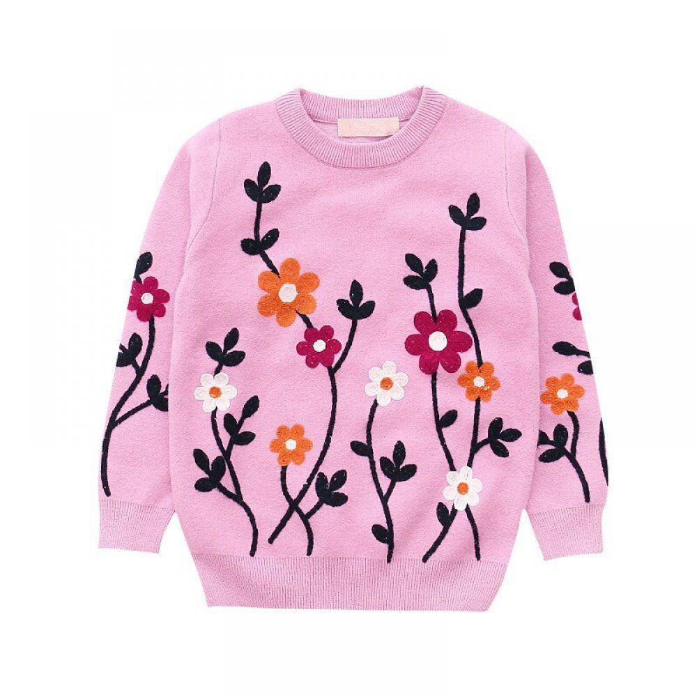 Winter Sweater Girls Children Garment Sweater Jacquard Warm Thick Sweater  Floral Girls Cardigan Sweaters T… | Girls sweaters, Girls cardigan sweater, Girls  cardigan
