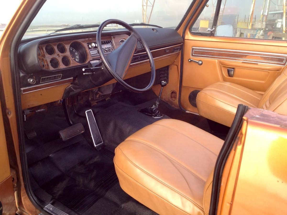 1978 dodge truck interior
