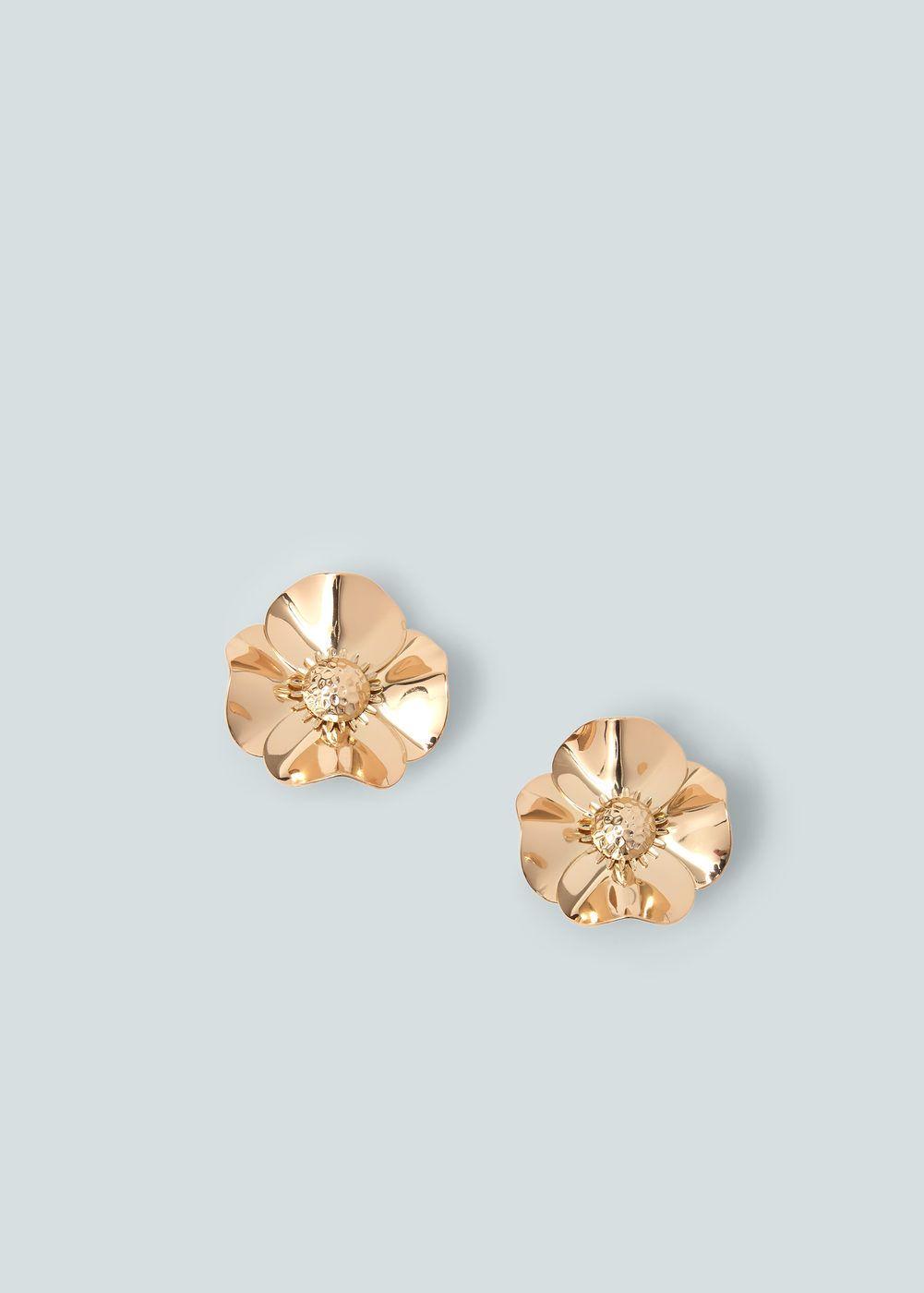 Ohrringe mit blumenmotiv - Damen | Blumenmotiv und Mango
