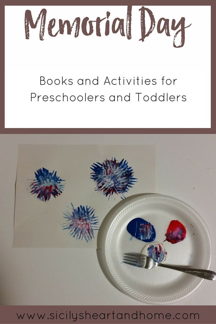 memorial day books and activities
