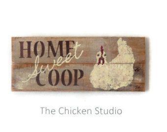 Chicken Art Chillin with my Peeps Chicken Coop by TheChickenStudio