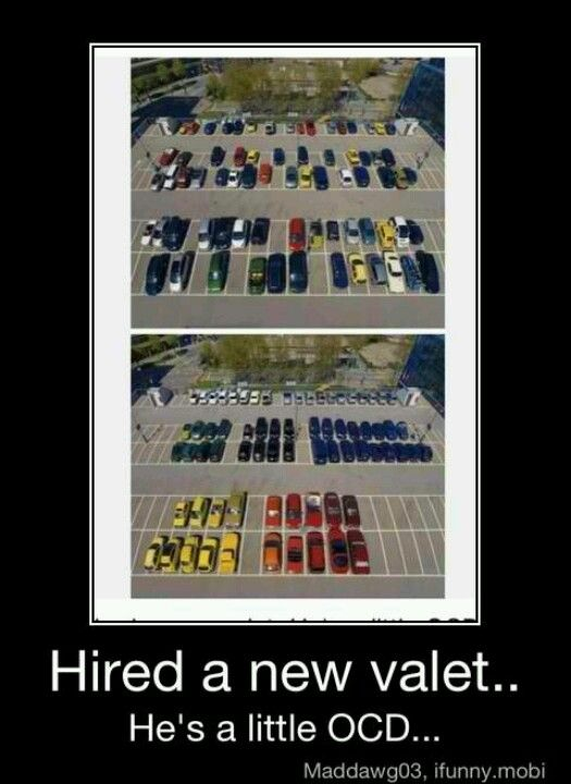 My kind of valet