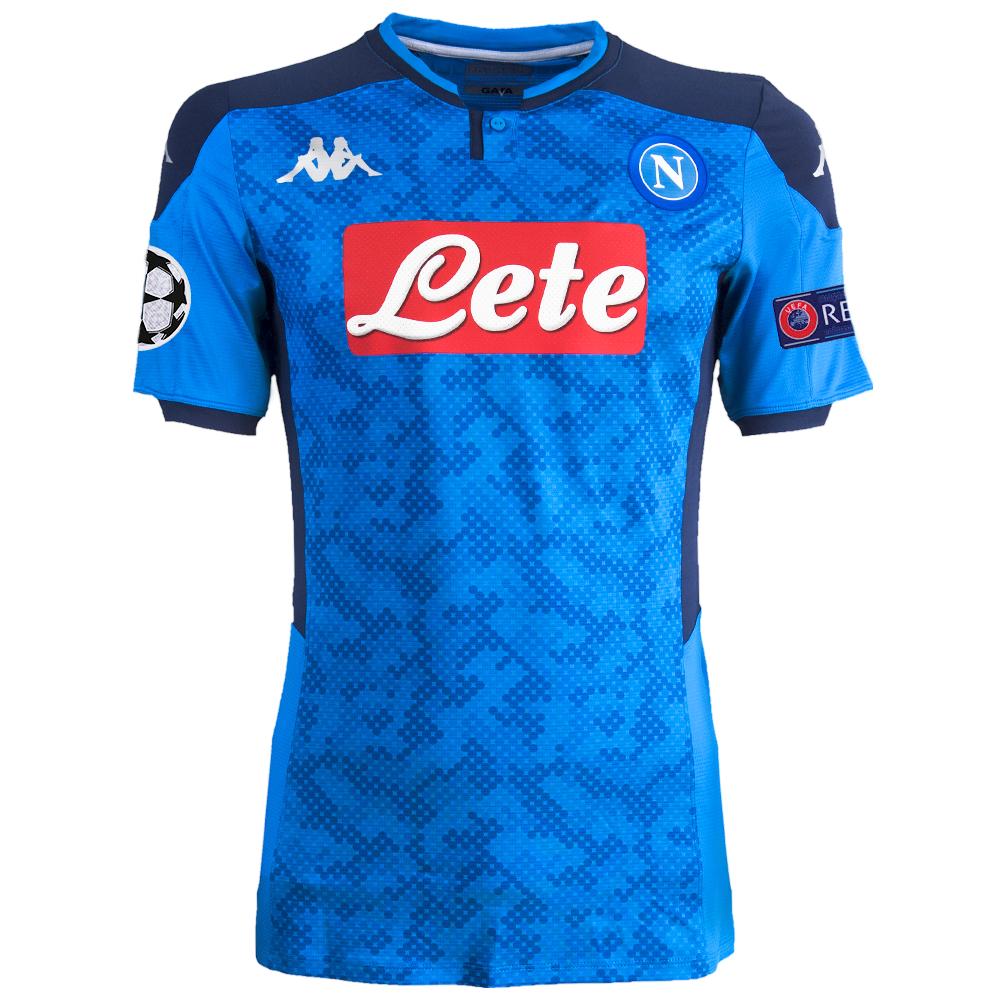 Maglia Azzurra Champions League Ssc Napoli 2019/2020 - SSC Calcio ...