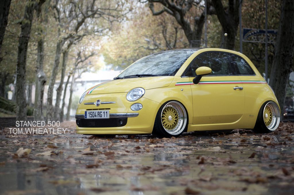 Stanced 500 Explore Fiat Cars And Motor Works